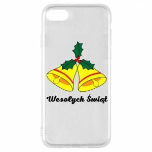 Phone case for iPhone 8 Merry Christmas... - PrintSalon