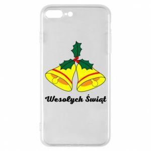 Phone case for iPhone 8 Plus Merry Christmas... - PrintSalon