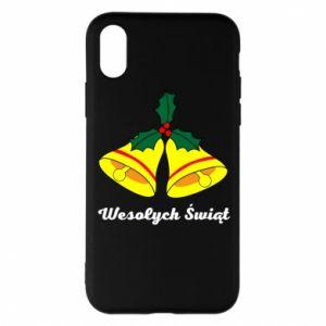 Phone case for iPhone X/Xs Merry Christmas... - PrintSalon