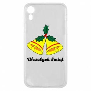 Phone case for iPhone XR Merry Christmas... - PrintSalon