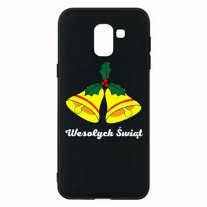 Phone case for Samsung J6 Merry Christmas... - PrintSalon