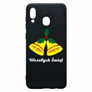 Phone case for Samsung A20 Merry Christmas... - PrintSalon