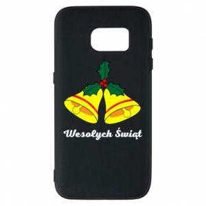 Phone case for Samsung S7 Merry Christmas... - PrintSalon
