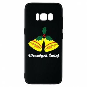 Phone case for Samsung S8 Merry Christmas... - PrintSalon