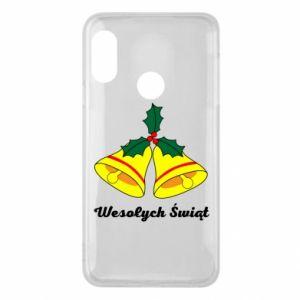 Phone case for Mi A2 Lite Merry Christmas... - PrintSalon