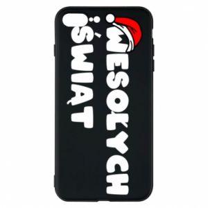 Etui na iPhone 8 Plus Wesołych Świąt