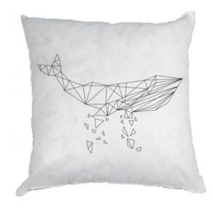 Pillow Whale outline