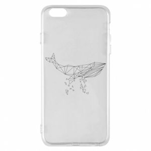 Phone case for iPhone 6 Plus/6S Plus Whale outline