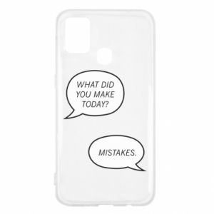 Samsung M31 Case What did you make today? Mistakes.
