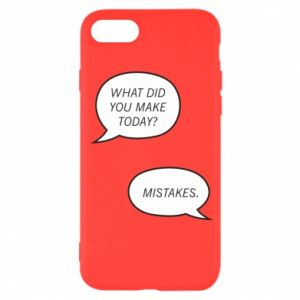 iPhone SE 2020 Case What did you make today? Mistakes.