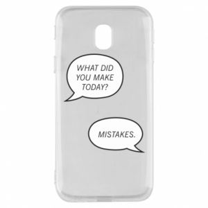 Etui na Samsung J3 2017 What did you make today? Mistakes.