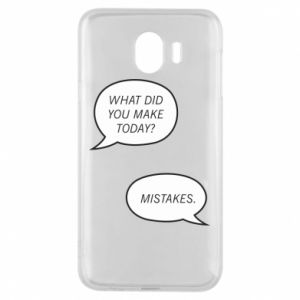 Etui na Samsung J4 What did you make today? Mistakes.