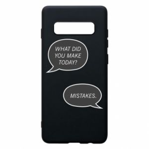 Etui na Samsung S10+ What did you make today? Mistakes.