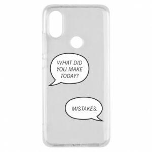 Etui na Xiaomi Mi A2 What did you make today? Mistakes.