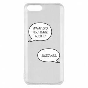 Etui na Xiaomi Mi6 What did you make today? Mistakes.