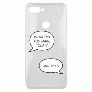 Etui na Xiaomi Mi8 Lite What did you make today? Mistakes.