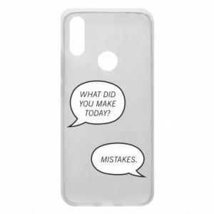 Etui na Xiaomi Redmi 7 What did you make today? Mistakes.