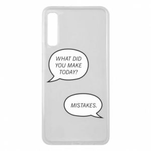Etui na Samsung A7 2018 What did you make today? Mistakes.