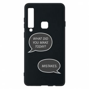Etui na Samsung A9 2018 What did you make today? Mistakes.