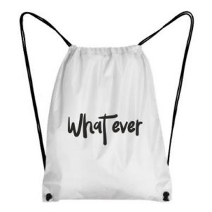 Plecak-worek What ever
