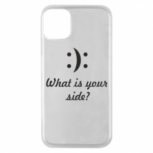 Etui na iPhone 11 Pro What is your side?