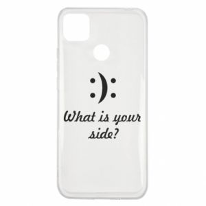 Xiaomi Redmi 9c Case What is your side?