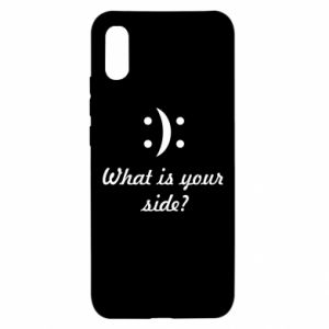Xiaomi Redmi 9a Case What is your side?
