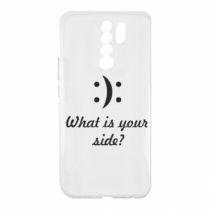 Xiaomi Redmi 9 Case What is your side?