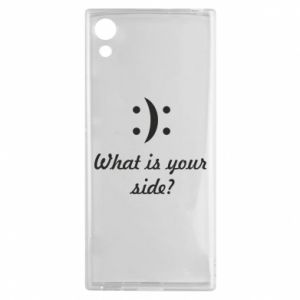 Sony Xperia XA1 Case What is your side?