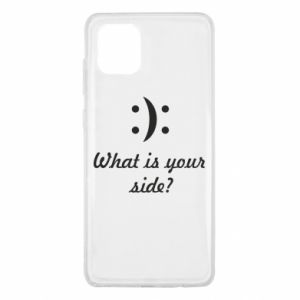 Samsung Note 10 Lite Case What is your side?