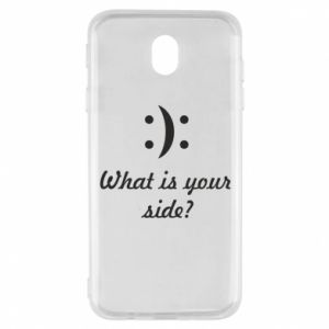 Samsung J7 2017 Case What is your side?