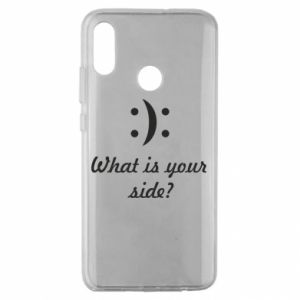 Huawei Honor 10 Lite Case What is your side?