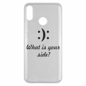 Huawei Y9 2019 Case What is your side?