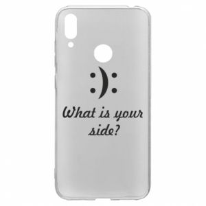 Huawei Y7 2019 Case What is your side?