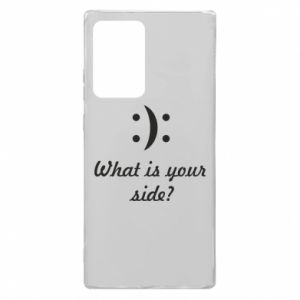 Samsung Note 20 Ultra Case What is your side?