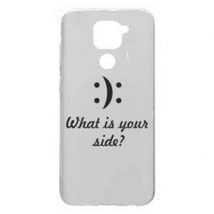 Xiaomi Redmi Note 9 / Redmi 10X case % print% What is your side?