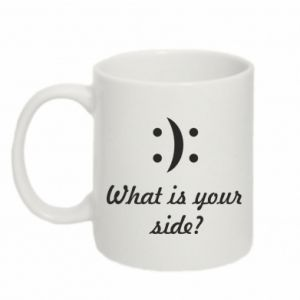 Mug 330ml What is your side?