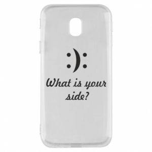 Etui na Samsung J3 2017 What is your side?