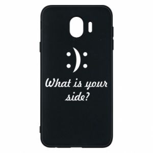 Etui na Samsung J4 What is your side?