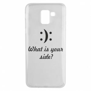 Etui na Samsung J6 What is your side?