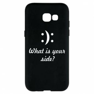 Etui na Samsung A5 2017 What is your side?