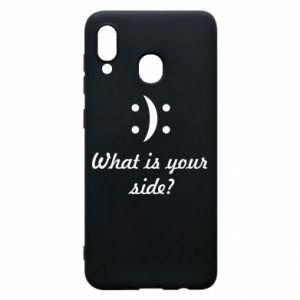 Phone case for Samsung A30 What is your side?