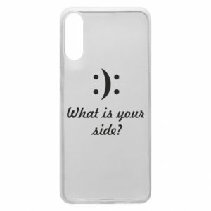 Etui na Samsung A70 What is your side?