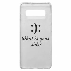 Etui na Samsung S10+ What is your side?