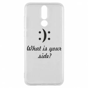 Huawei Mate 10 Lite Case What is your side?