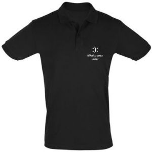 Men's Polo shirt What is your side?