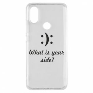 Phone case for Xiaomi Mi A2 What is your side?