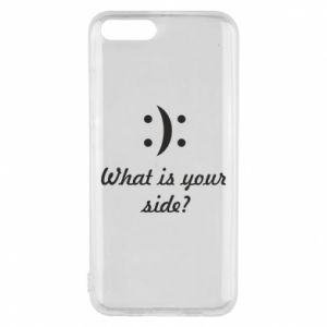 Etui na Xiaomi Mi6 What is your side?