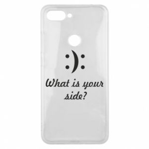 Etui na Xiaomi Mi8 Lite What is your side?