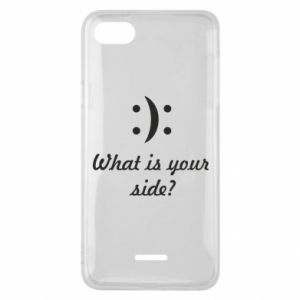 Xiaomi Redmi 6A Case What is your side?